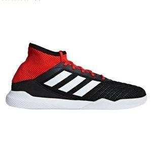Adidas Predator Tango 18.3 Black Red Shoes 8